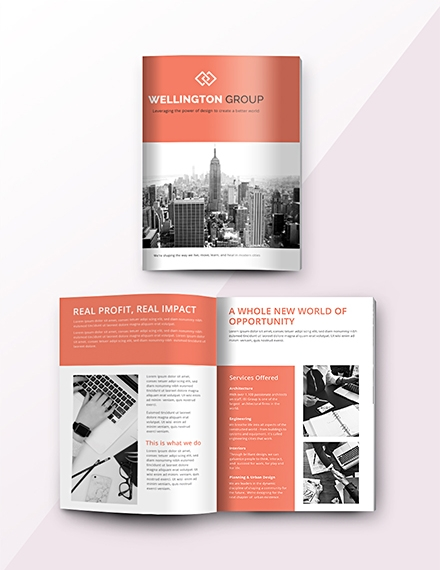 free business catalog template