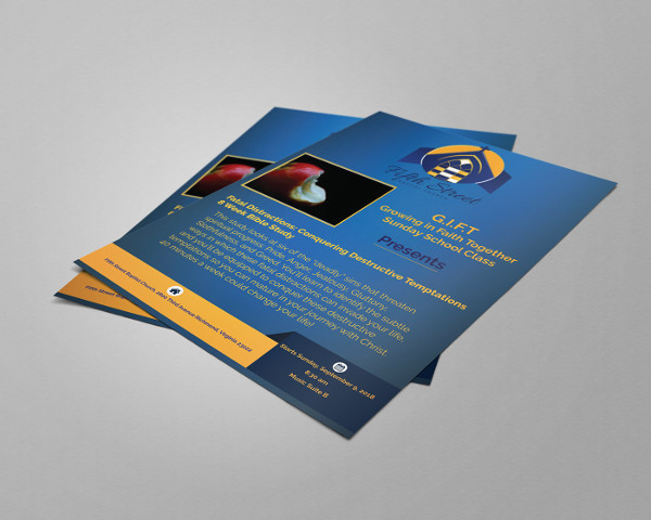 free church flyer template1