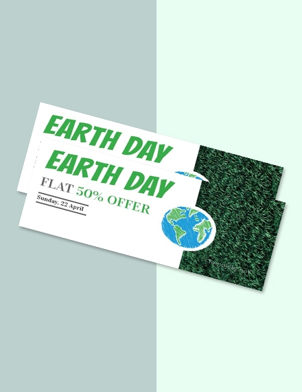 free earth day voucher