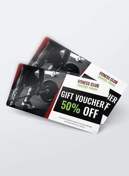 Free Gym Discount Voucher Example