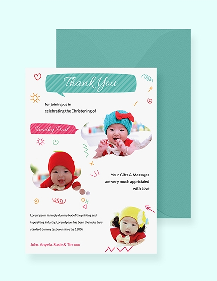 free thank you card templates