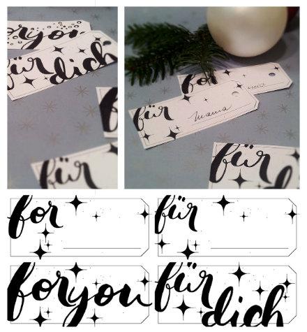 freebie gift tag
