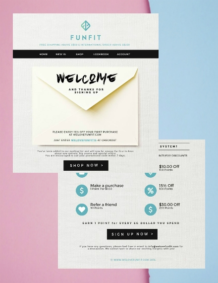 funfit email newsletter