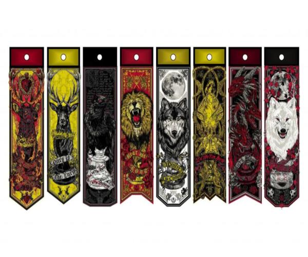 game of thrones diy bookmark