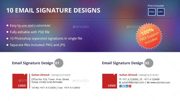 generic email signature example2