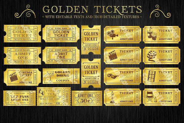 golden cinema ticket example1