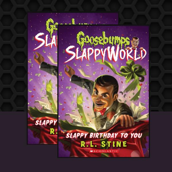 goosebumps slappy world childrens book cover