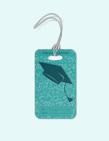graduation gift tag template