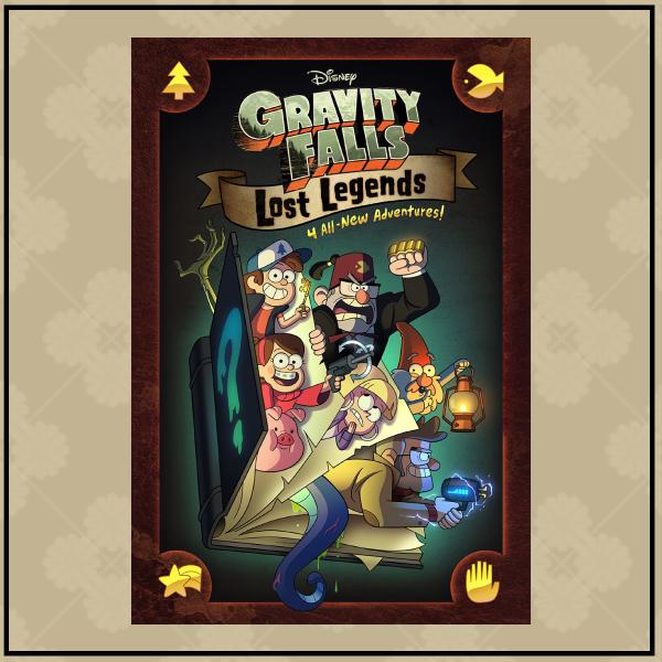 gravity falls childrens book cover design