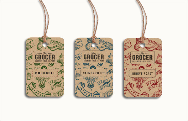 Grocer Tag Example