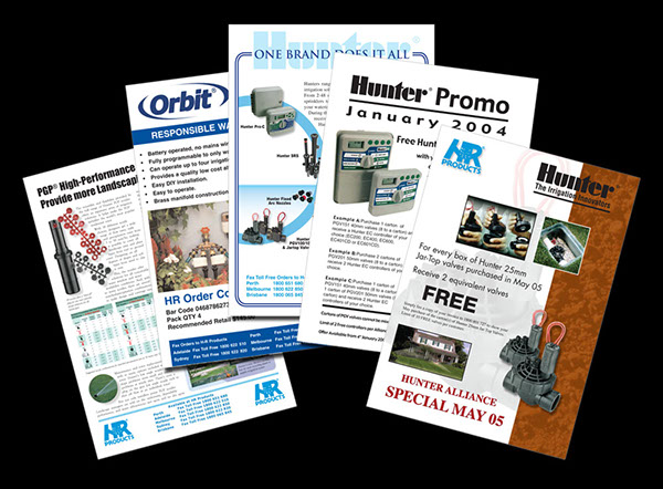 hr product promotional flyer example