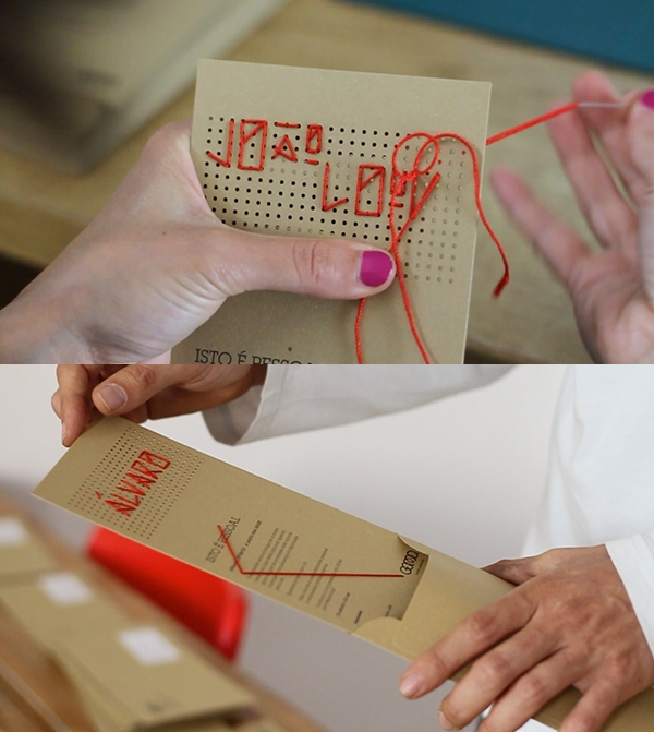 handmade invitation example