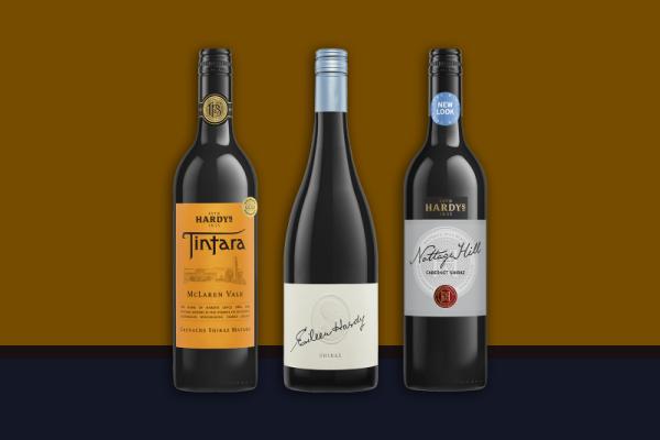 hardys wine label example