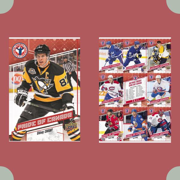 hockey trading card designs