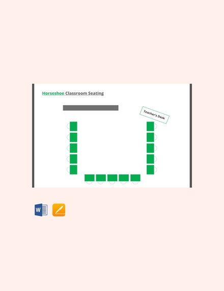 Horseshoe Classroom Seating Arrangements