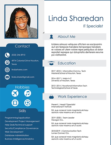 it professional resume