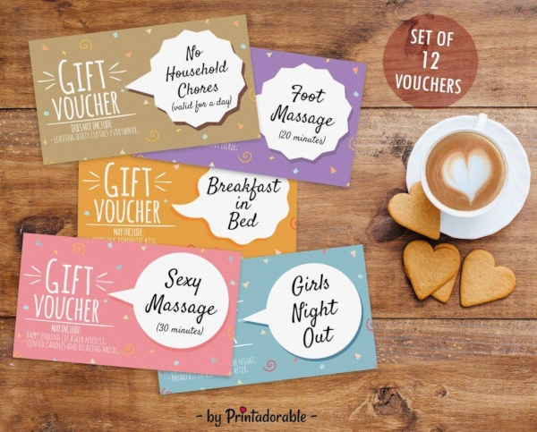 inexpensive romantic love coupon example