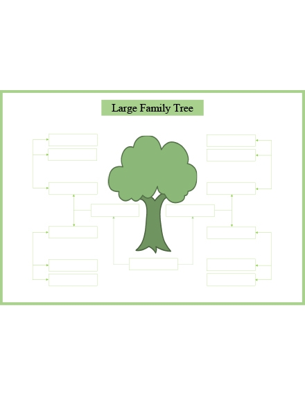 Large Family Tree Slider