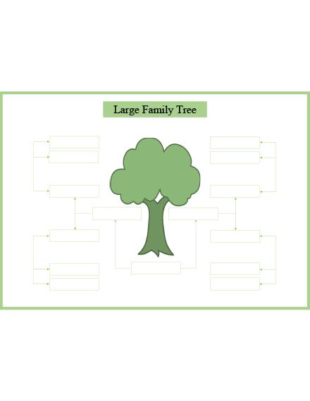large family tree slider