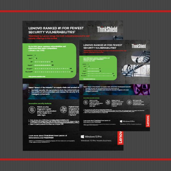 Lenovo ThinkShield Data Security Business Flyer