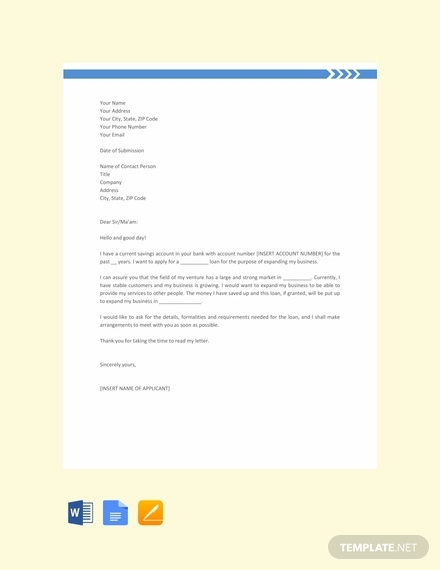 loan application letter2