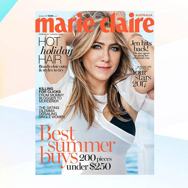 marie claire australia magazine cover