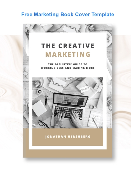 marketing book cover example