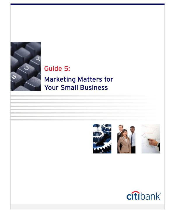 marketing matters for your small business example1