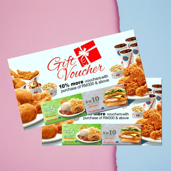 marry brown gift voucher