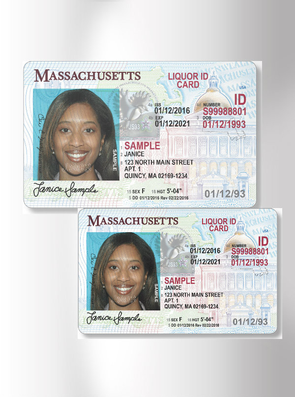 massachusetts liquor id card