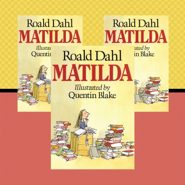 matilda childrens book cover design