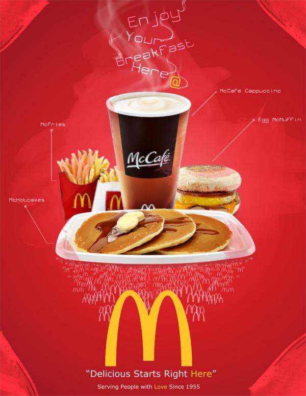 mcdonalds poster ad