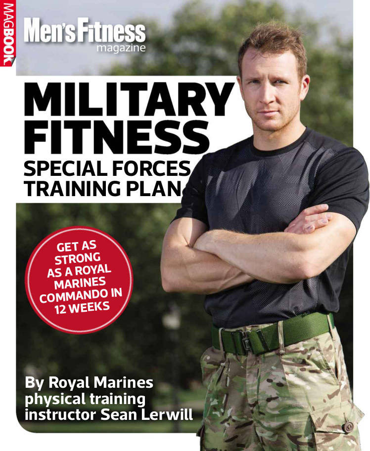 military training workout planner example