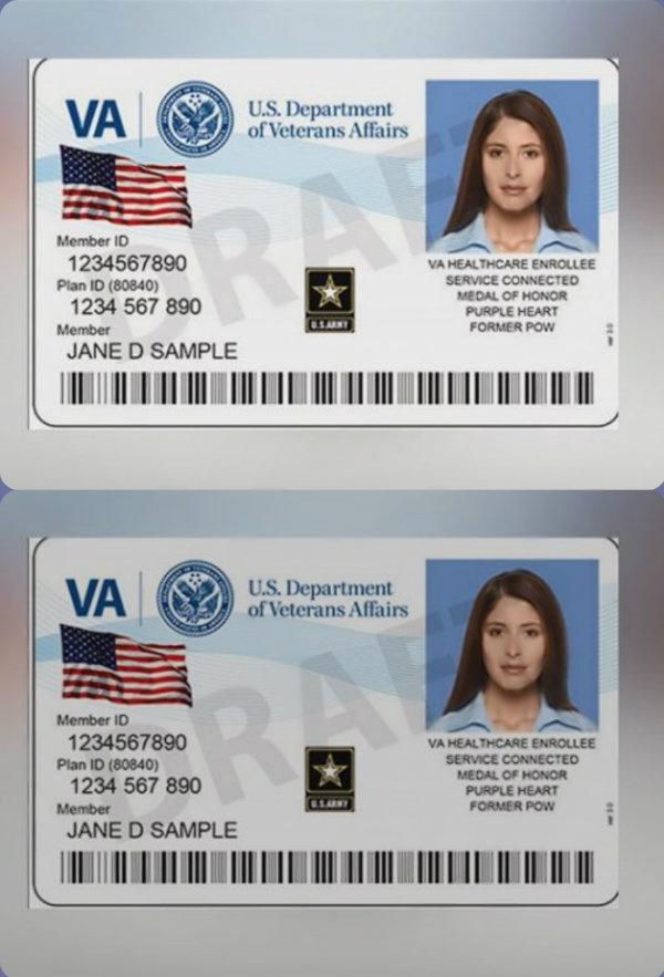 military veteran id card