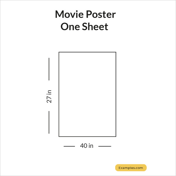 movie poster one sheets