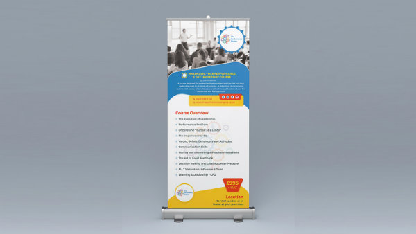 multipurpose roll up banner example