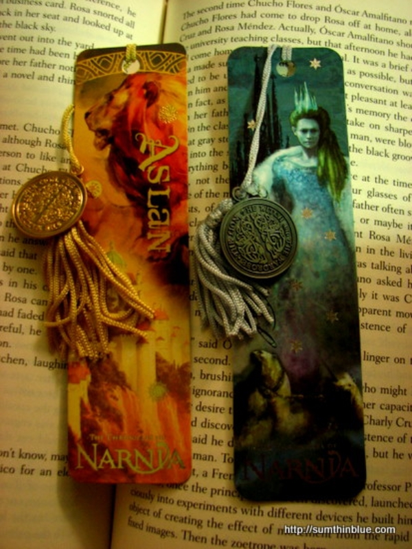 narnia bookmark designs