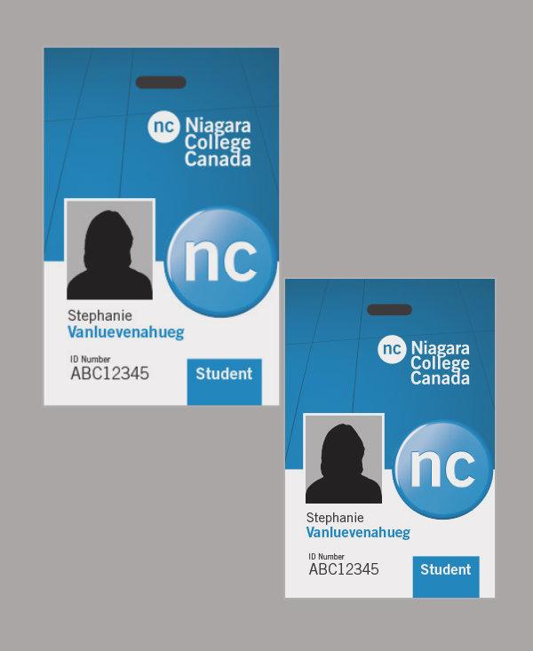 niagara college student id card