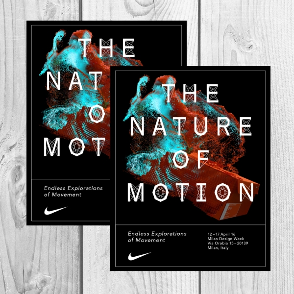 Nike Exhibition Business Flyer