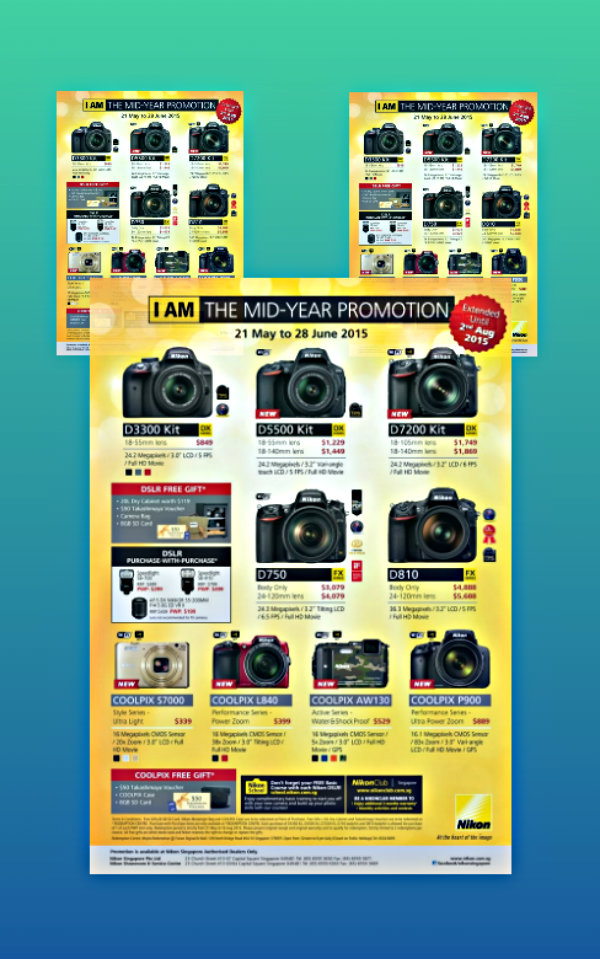 nikon mid year promotion flyer