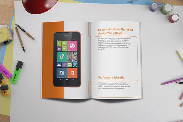 nokia company brochure example