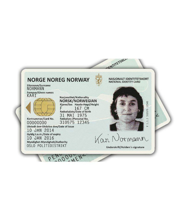 norway national id card