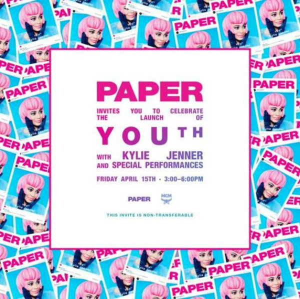 paper magazine launch party