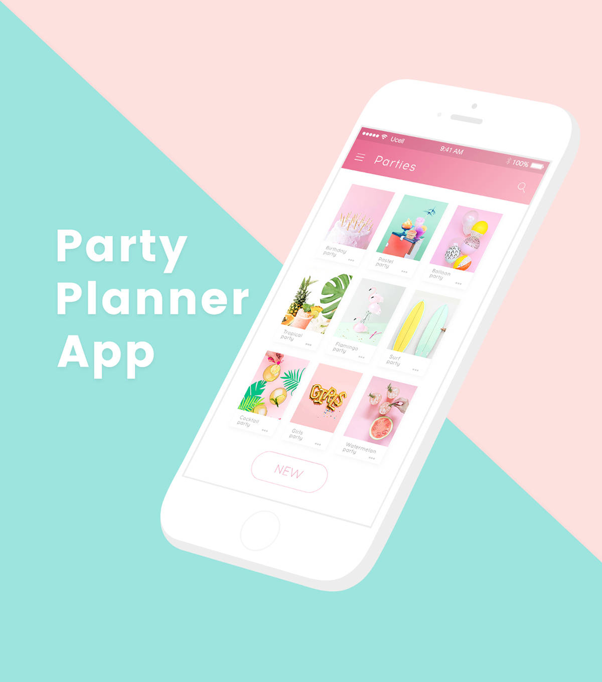 Party Planner Application Example