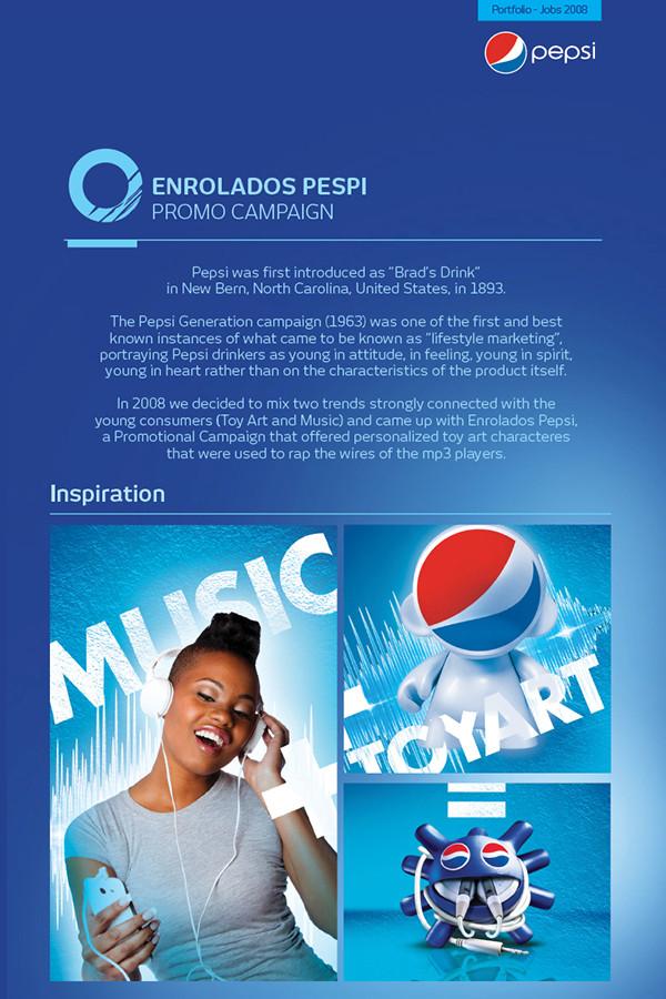 pepsi company brochure