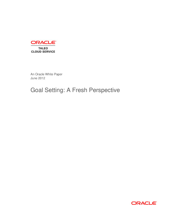 perspective on business goal setting example1