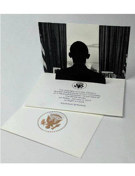 Presidential Farewell Reception Invitation