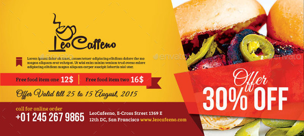 print ready restaurant food coupon example1