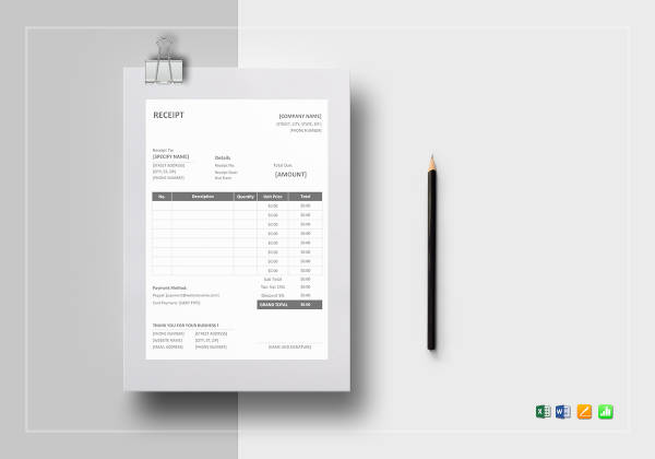 printable receipt template1