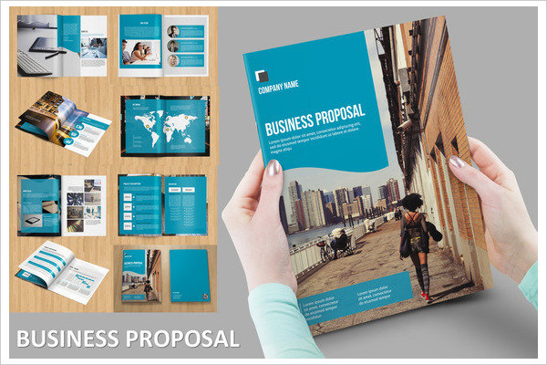 pro business project proposal catalog example